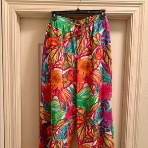 🌞Ralph Lauren Wide-Leg Floor Length Pants